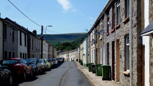 Bwllfa Road, Cwmdare
