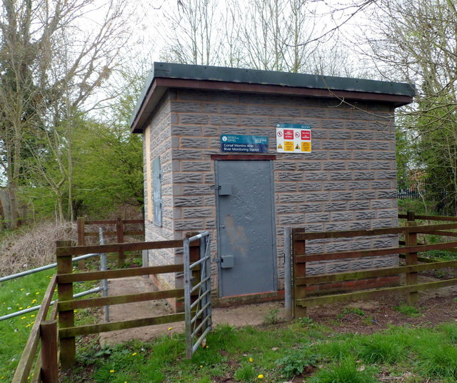 River Lugg Monitoring Station, Leominster