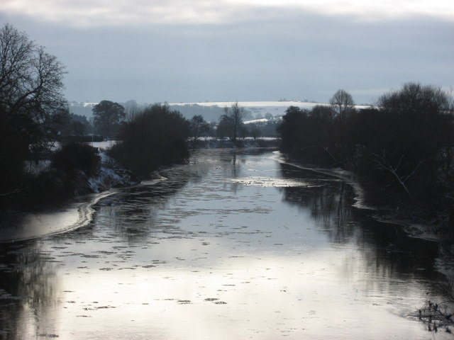 River Wye from Holme Lacy Bridge