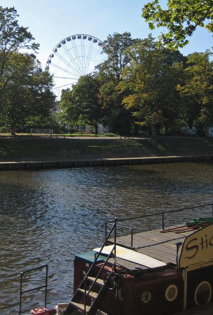 River Ouse near the Stickleback Café