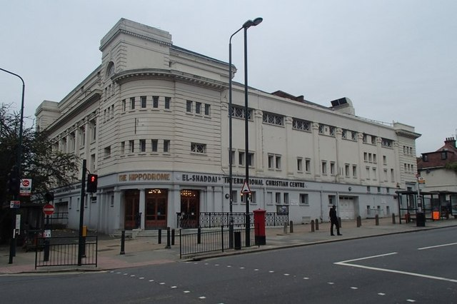 Christian Centre (formerly the Hippodrome) Golders Green