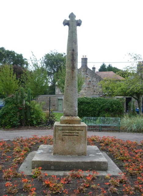 Kinross mercat cross, Sandport