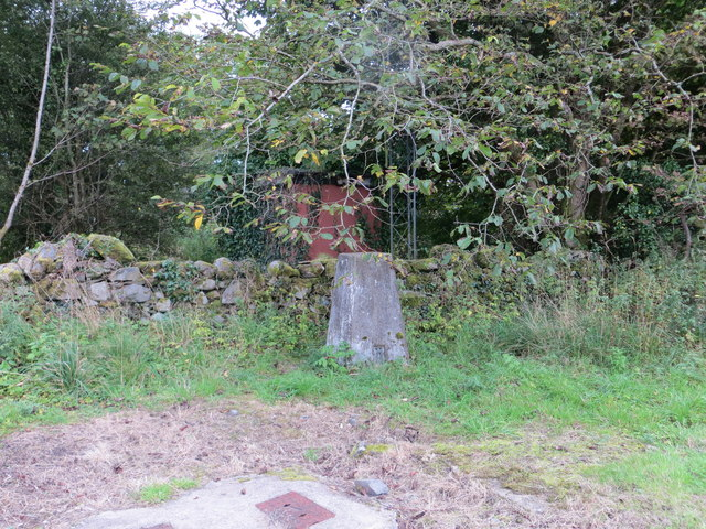 Doon Hill Ordnance Survey Triangulation Pillar