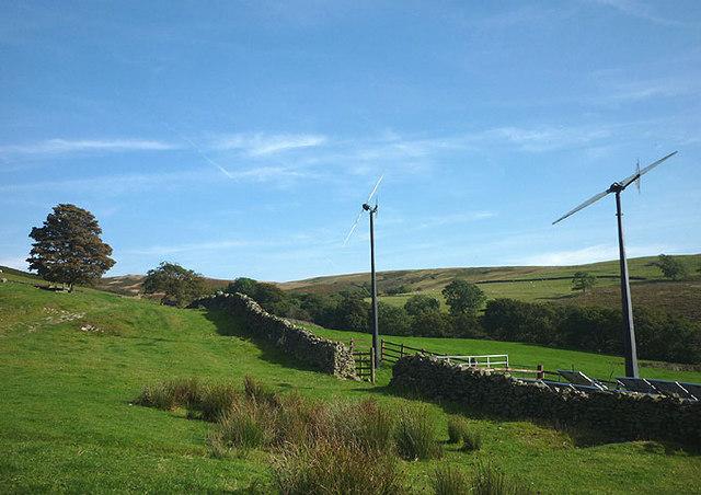 Renewable energy at Fellside