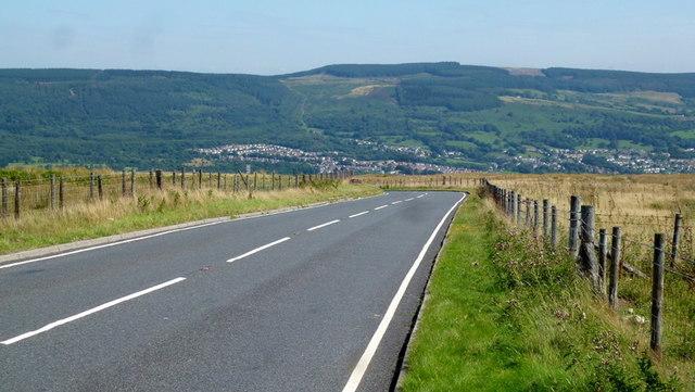 Maerdy Mountain Road