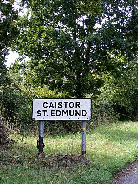 Caistor St.Edmund sign