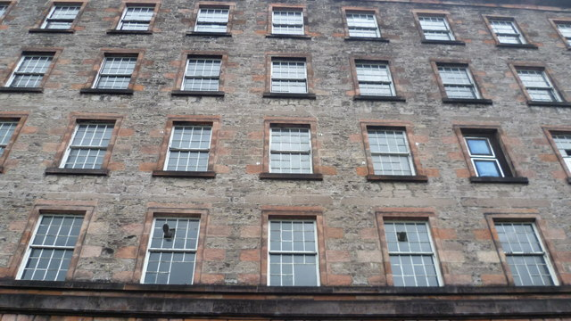 Windows of the old Deanston Mill
