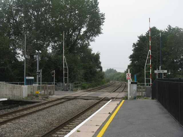 Level Crossing at Lydney Station