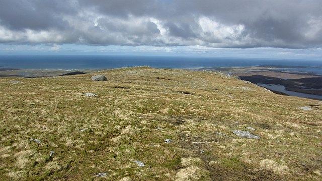West ridge of Hecla