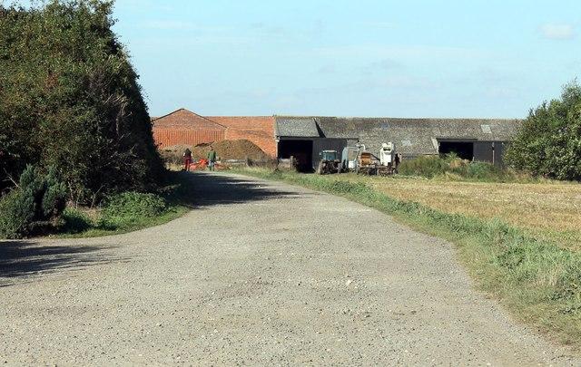 Track to Carlton Lowfield Farm
