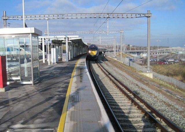 Ebbsfleet International railway station, Kent