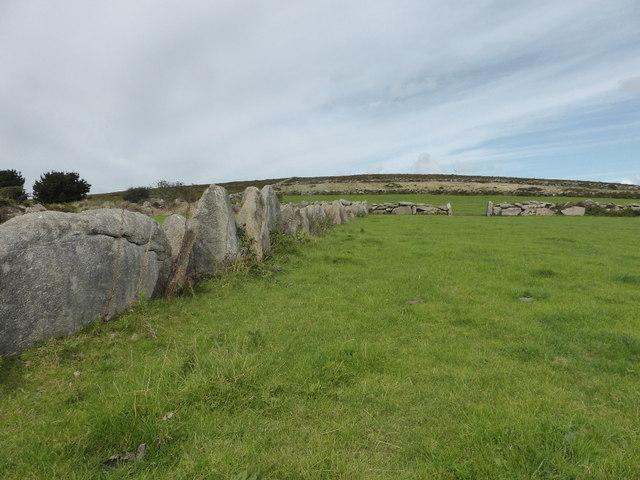 Fields on Trink Hill