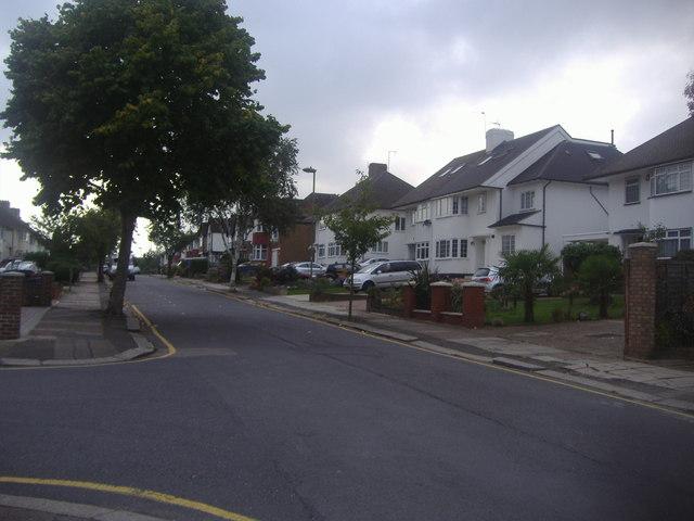 St Margarets Road, Edgware