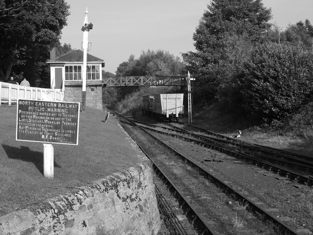 The Station At Beamish Open Air Museum