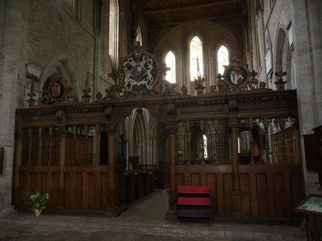 Inside Dore Abbey