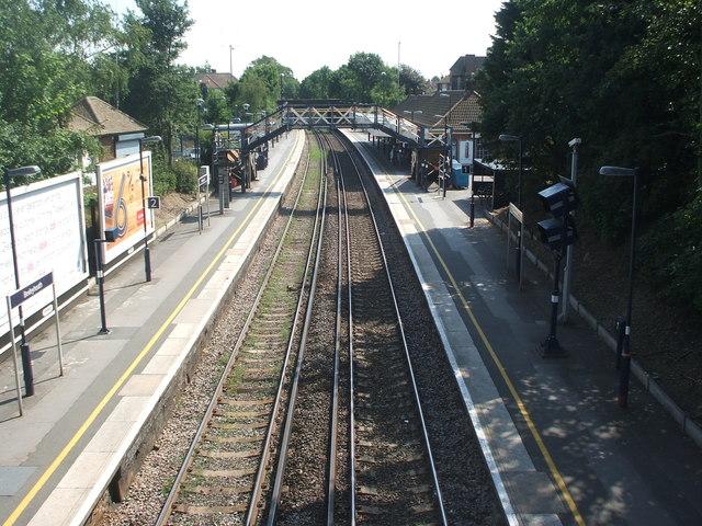 Bexleyheath railway station, Greater London