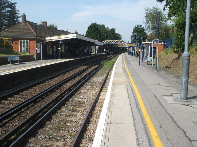 Bexleyheath railway station, Greater London