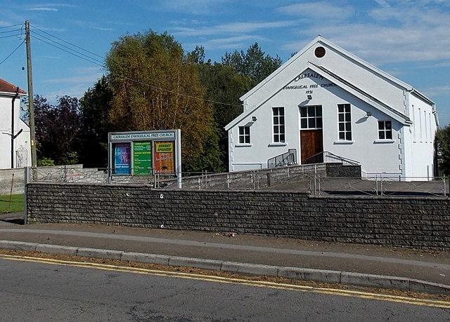 Caersalem Evangelical Free Church in Gorseinon