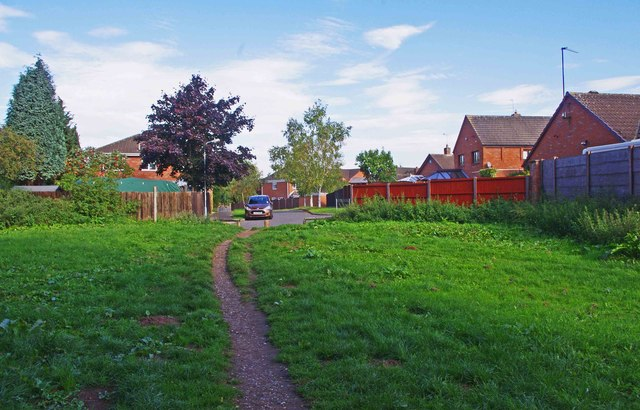 Path to Imber Road, Spennells, Kidderminster