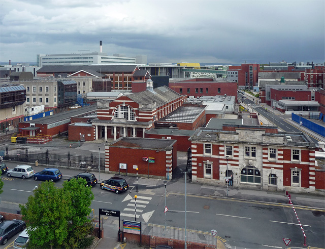 View from Grafton Street, Manchester (1)