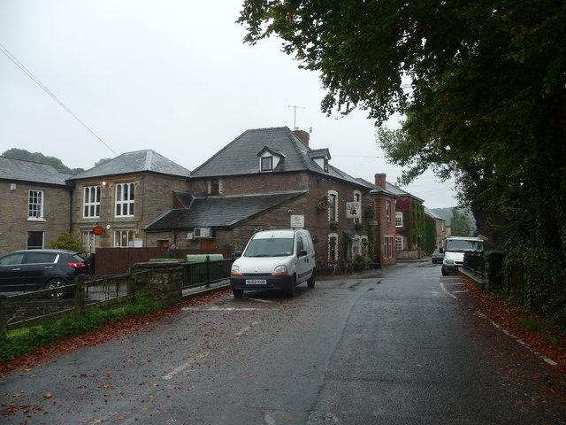 Part of Ewyas Harold village