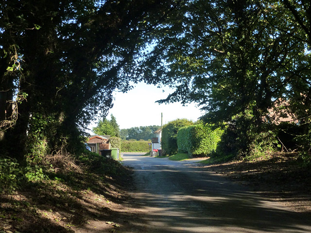 Topshill Road in Thorpe Belt
