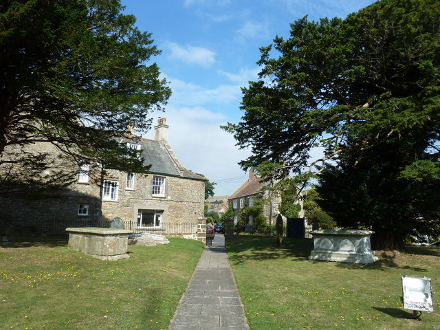 St Mary, Burton Bradstock: churchyard (ii)