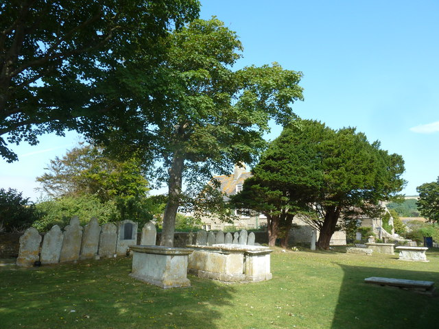 St Mary, Burton Bradstock: churchyard (iii)