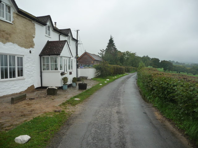 Cottage on a lane above the Golden Valley