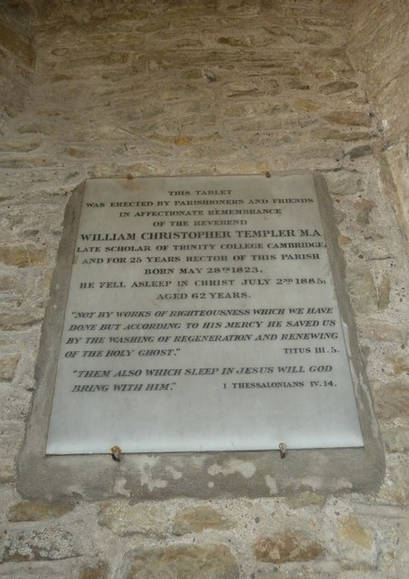 St Mary, Burton Bradstock: memorial (VIII)