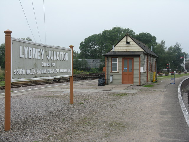 Lydney Junction waiting room
