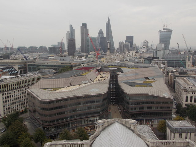 City of London: a city roofscape