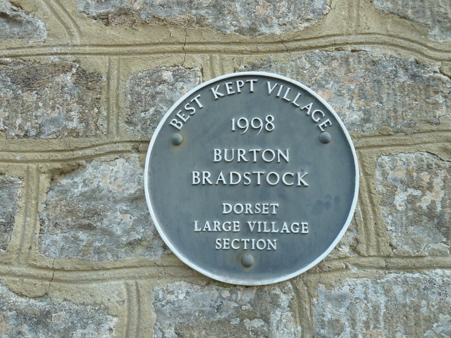 Plaque on the library