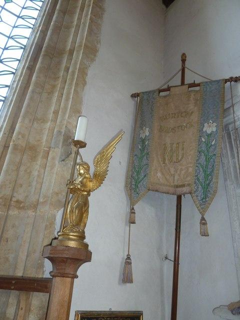 Inside St Mary, Burton Bradstock  (C)