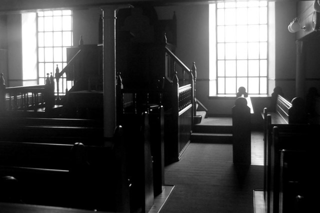 Interior of Bracadale Free Church (Continuing)
