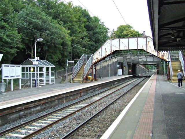 Bearsden railway station
