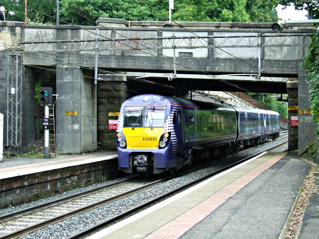 Bearsden railway station