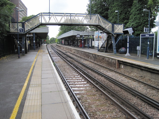 Sidcup railway station, Greater London