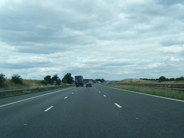 M180 westbound near Tudworth Hill