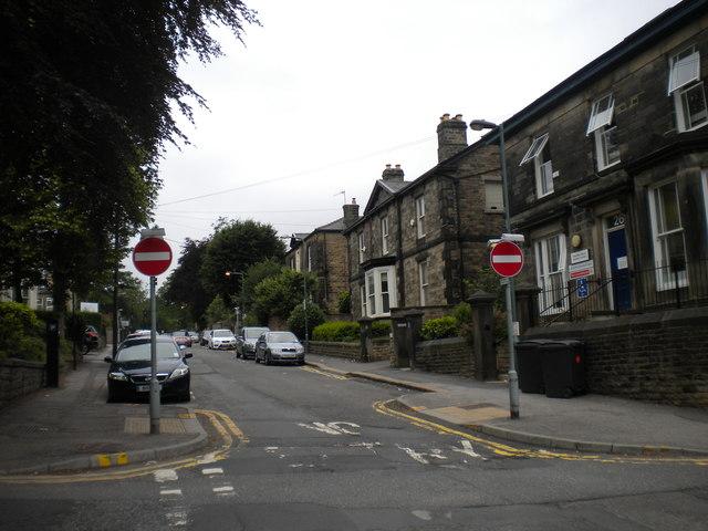 Northumberland Road, Sheffield
