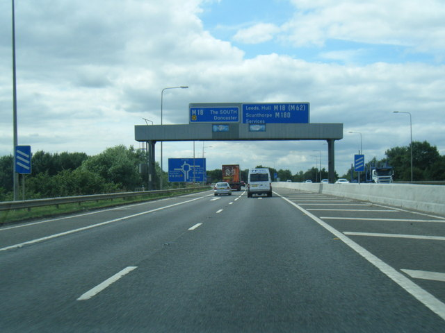 M180 ends at M18 junction