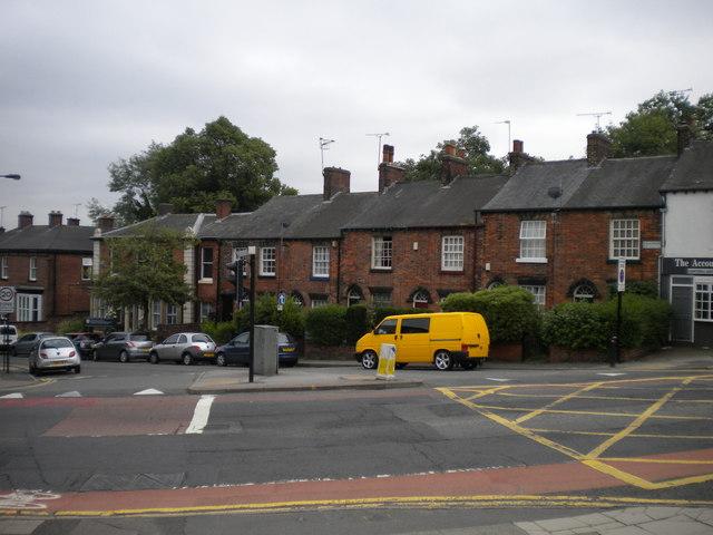Top of Wilkinson Street, Sheffield