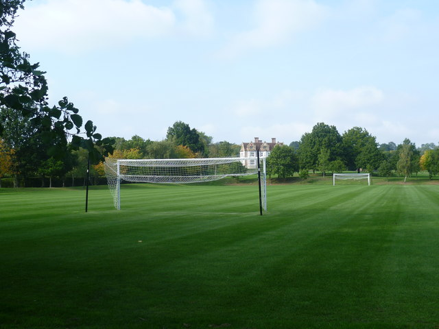 Football pitch and Charlton Court