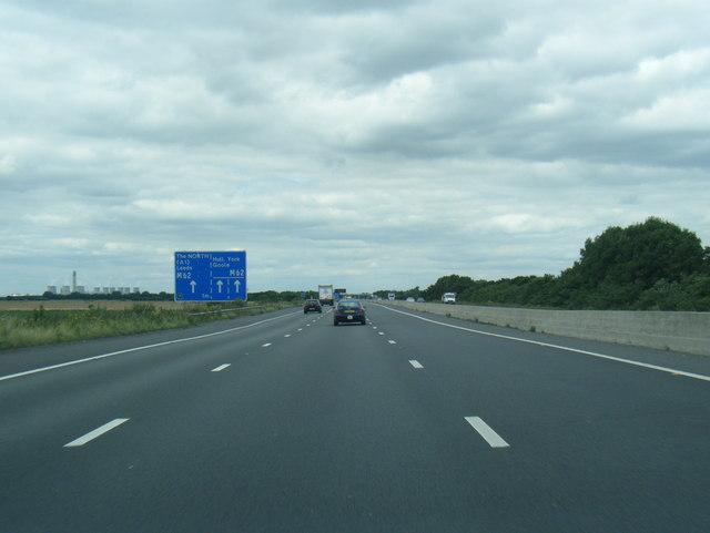 M18 northbound