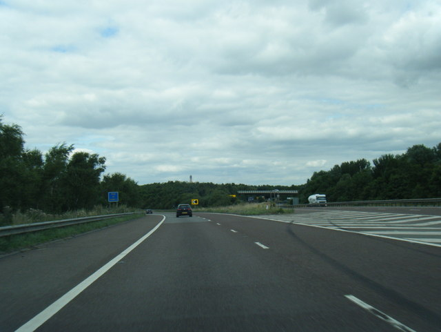 M18 slip to the M62 westbound