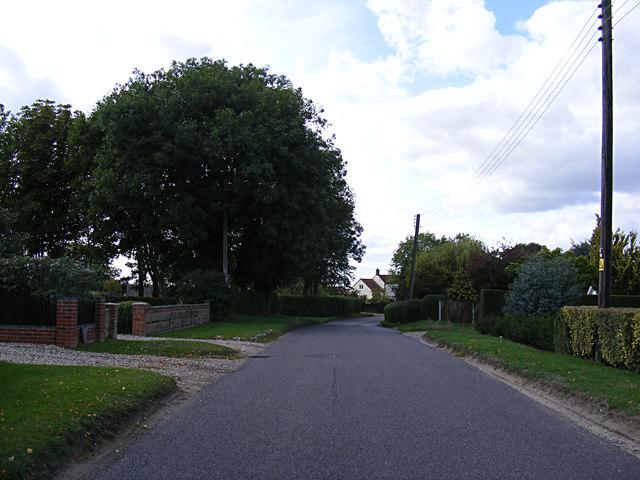 Caistor Lane, Caistor St.Edmund