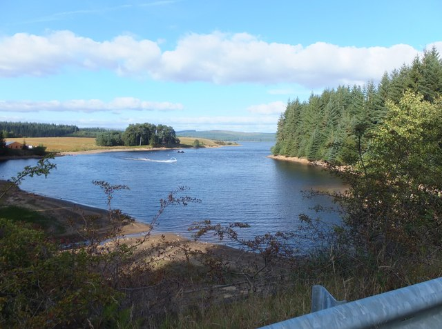 Water skiing at Little Whickhope (1)