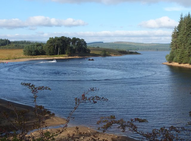 Water skiing at Little Whickhope (3)