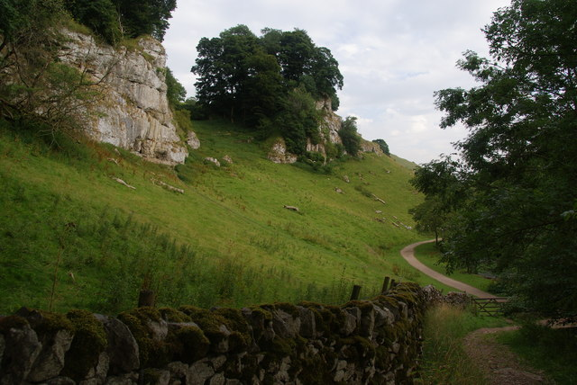 The head of Wolfscote Dale