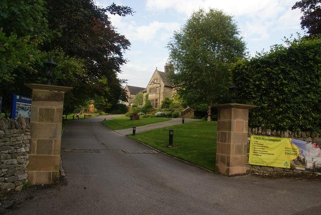 Entrance to Hartington Youth Hostel